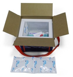 Гибкий гелевый хладоэлемент IcePlus Cool c термоконтейнером