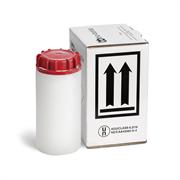 Красная био-бутылка